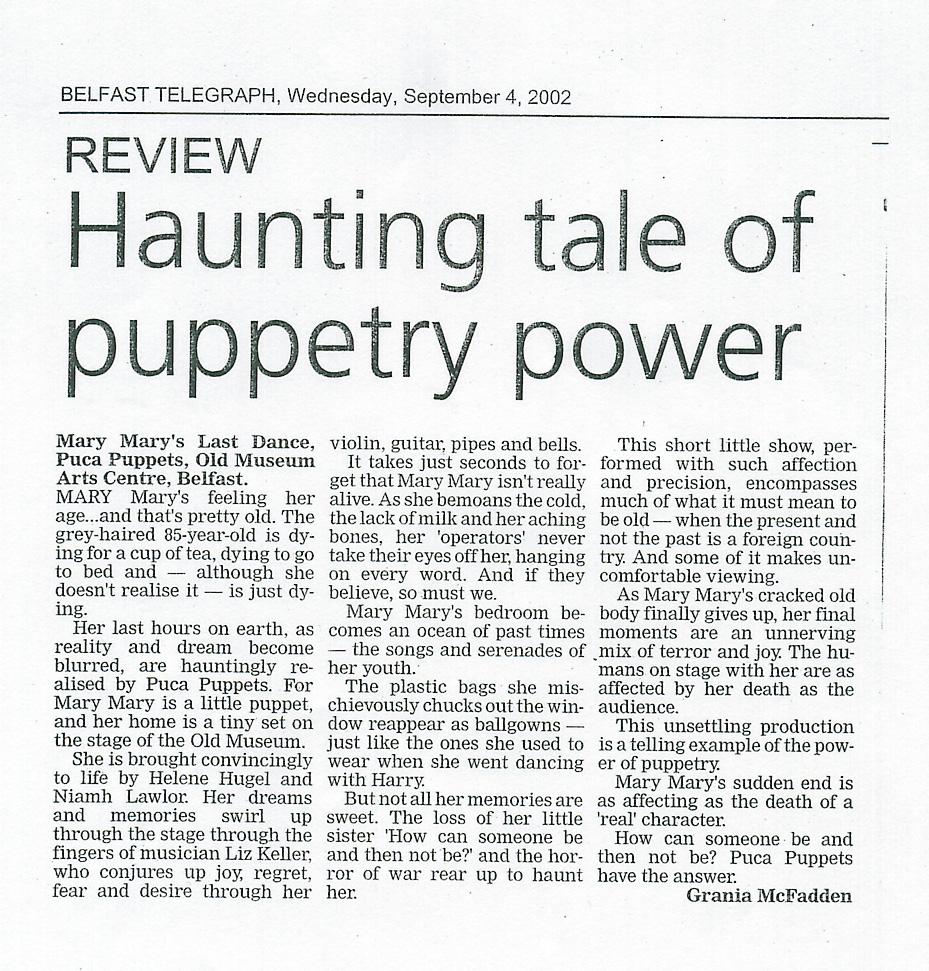 belfast-telegraph review