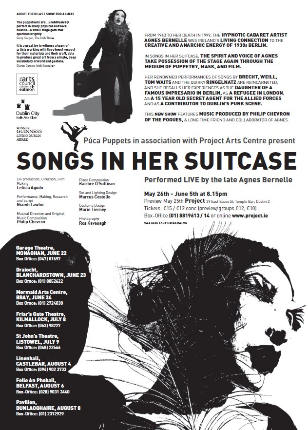 Songs In Her Suitcase - Poster picture