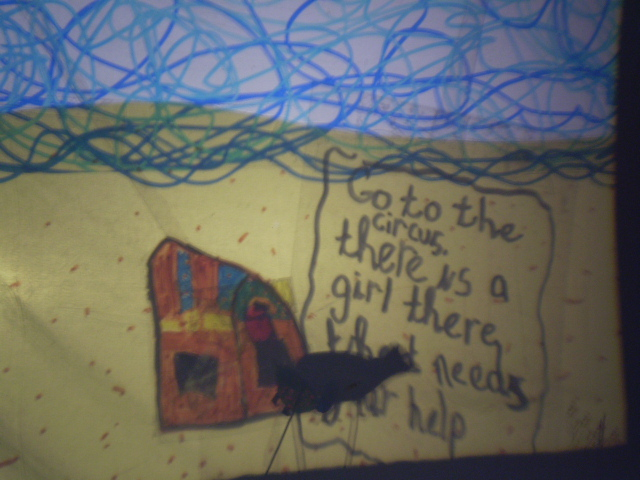 Shadow Puppetry from Dublin City Council's Children's Art