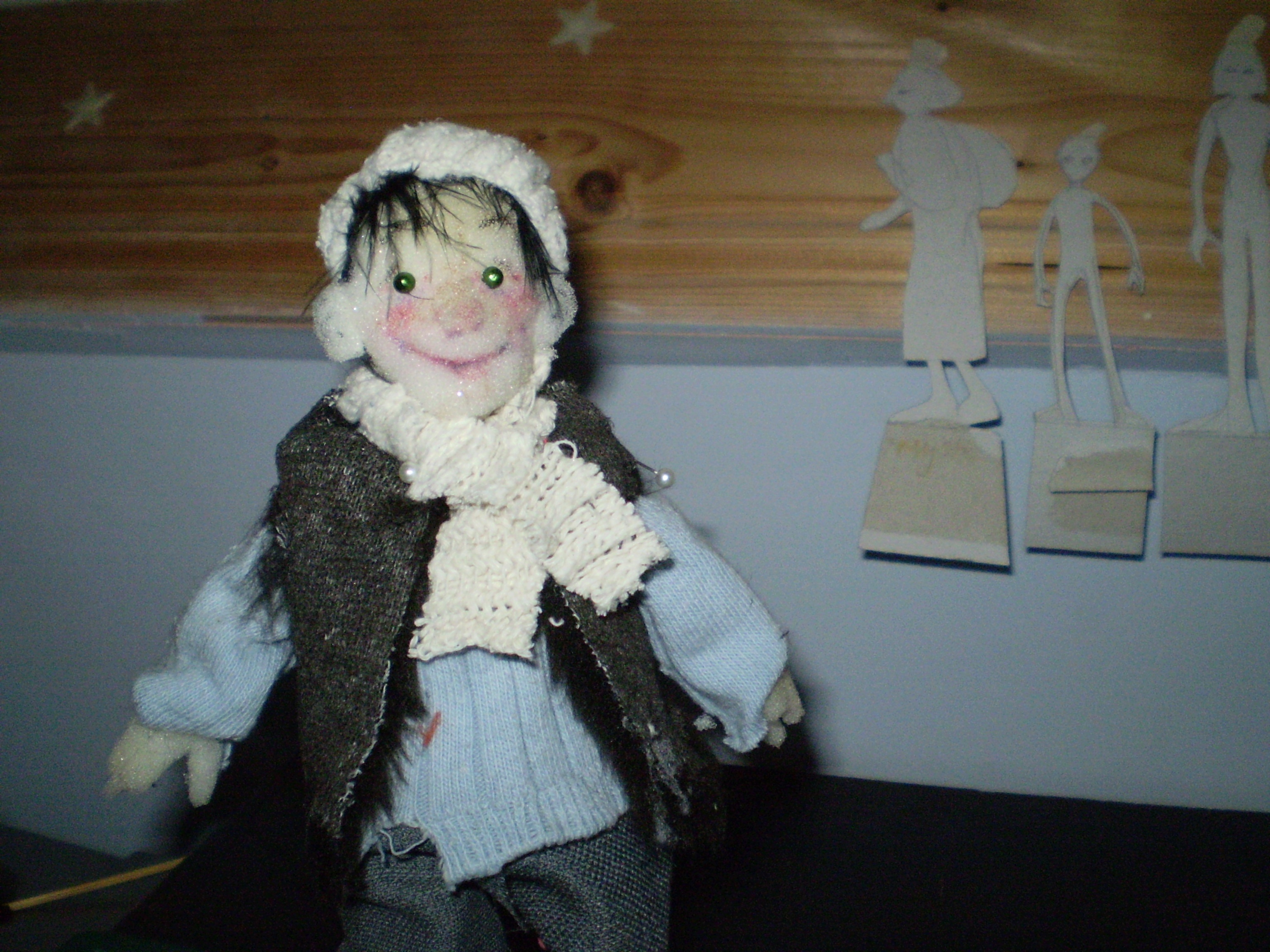Maquette Puppet for Stone Soup
