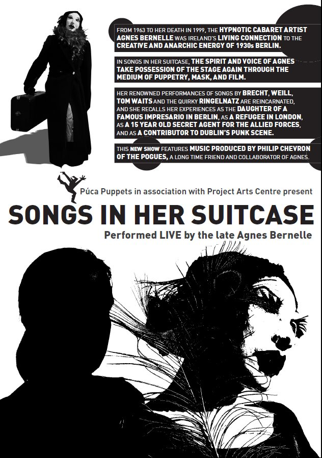 performed live by the late Agnes Bernelle 2004: Flier.