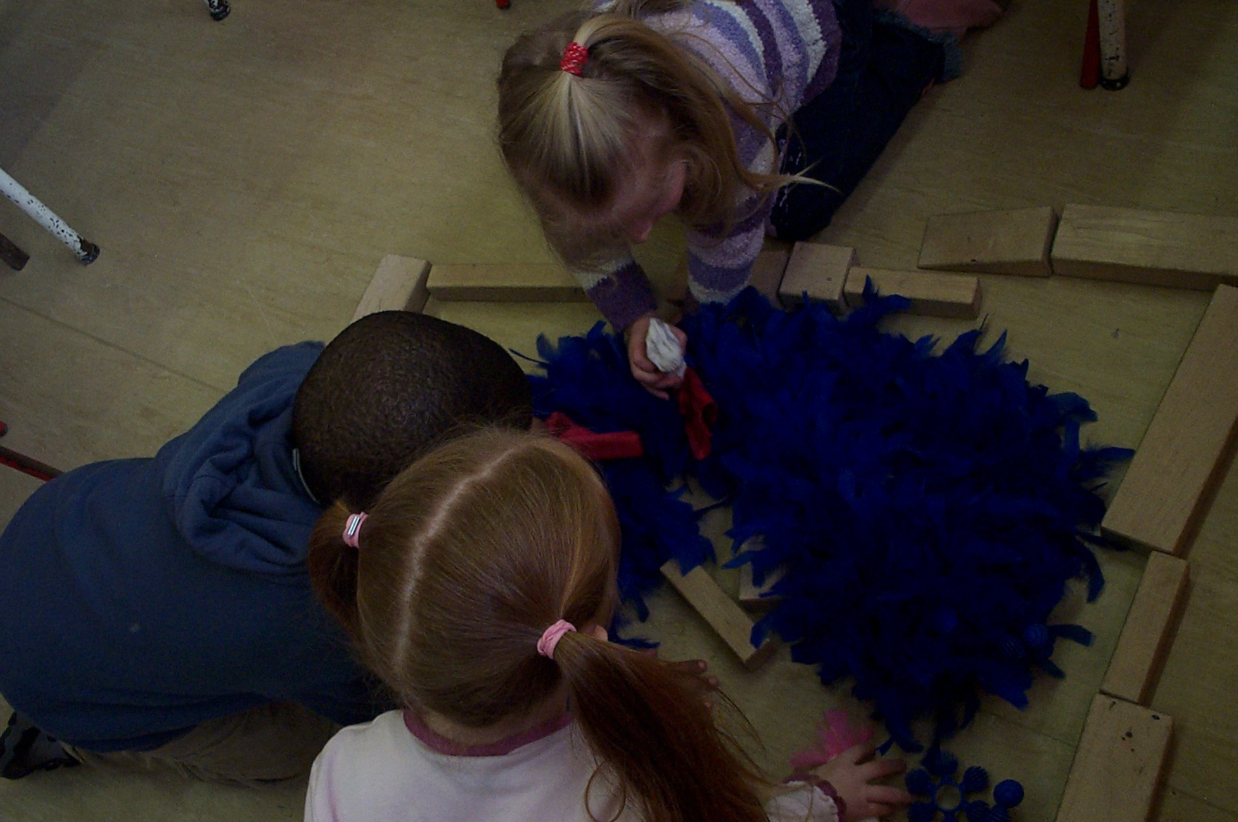 swimming-pool  puppetry and play sessions at Rutland Street Preschool.