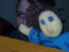 Foam carved Glove Puppet made in Patrician Boy\'s School, Finglas.