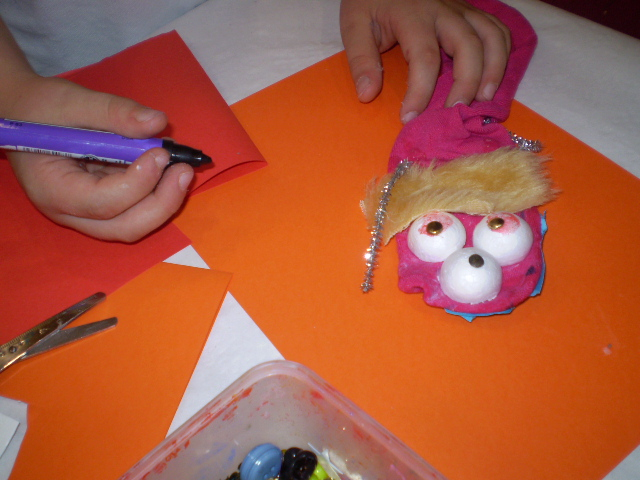 Passport making for puppets in Mucat Puppet Festival